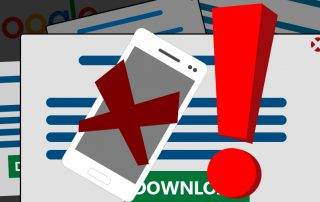 Google will punish websites with pop-up install ads