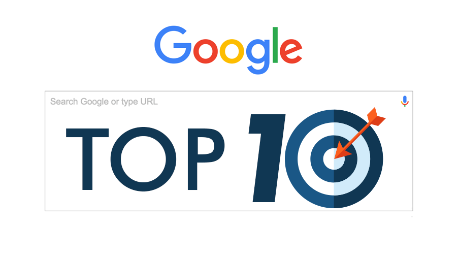 Google's Top 10 Becomes Real With High-Quality Blog Posts