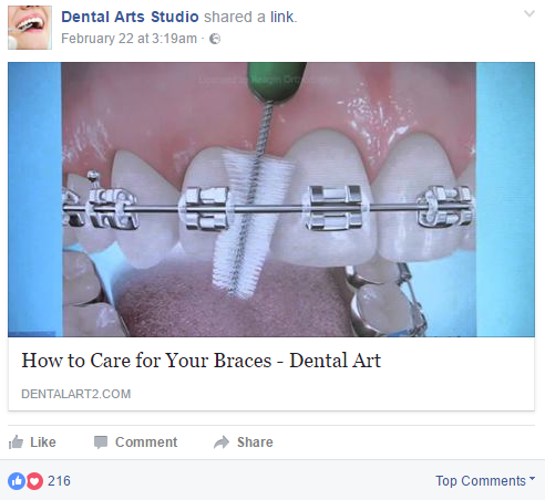 reputation building for dental businesses