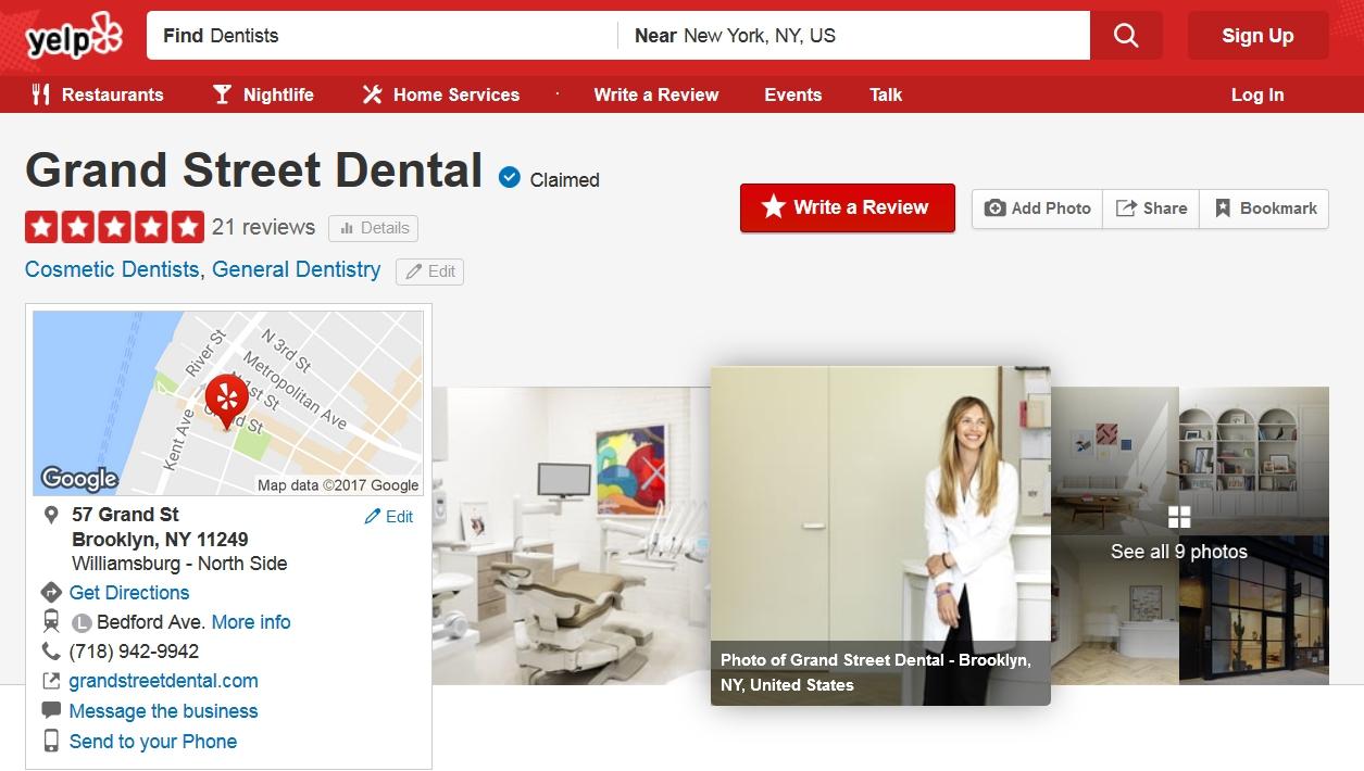 reputation building for dental businesses