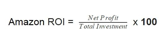 Amazon ROI formula