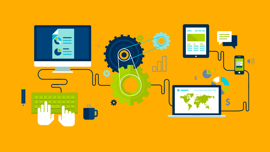 Automating Business Processes in a Well-Established System