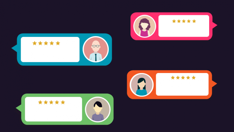 ask customers to post testimonials