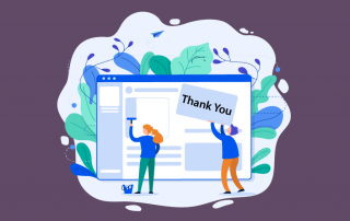 perfect thank you page tips