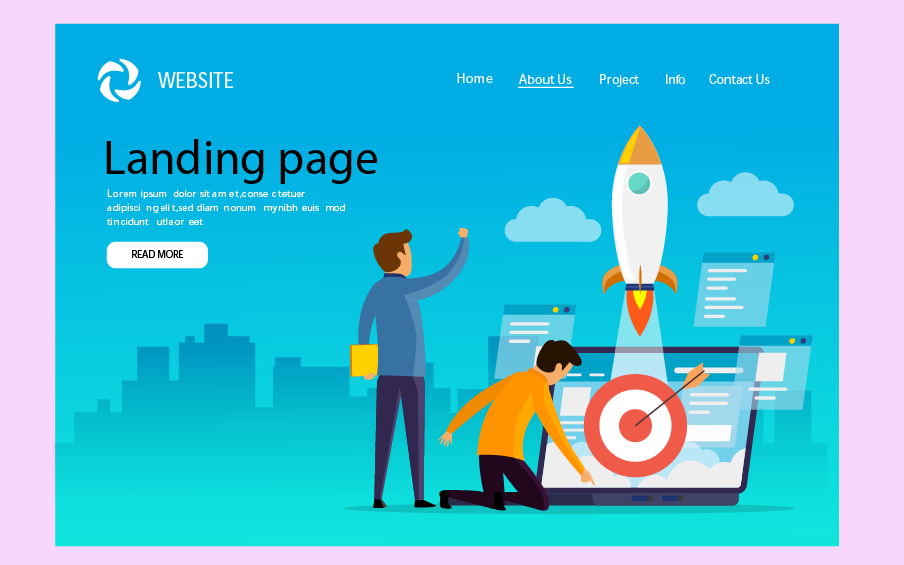 importance of linding page