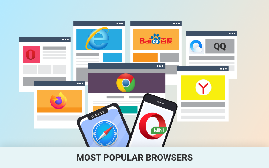 15 Most Popular Browsers for Desktop and Mobile