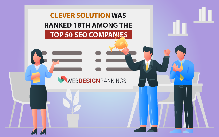 WebDesignRankings Lists Clever Solution Among the Best SEO Companies
