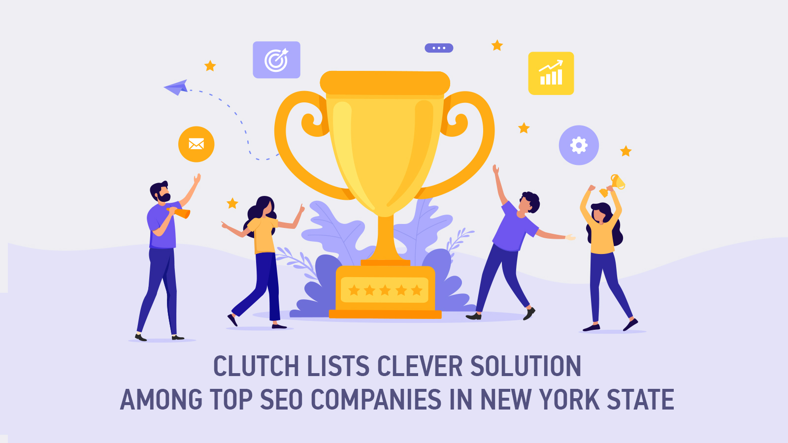 Clever Solution among Top SEO Companies in New York State