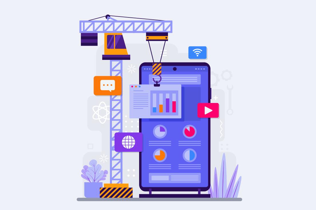 custom-build mobile app