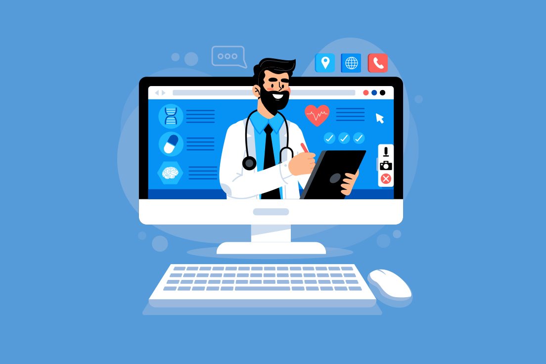 Patients choose medical care online in 2021