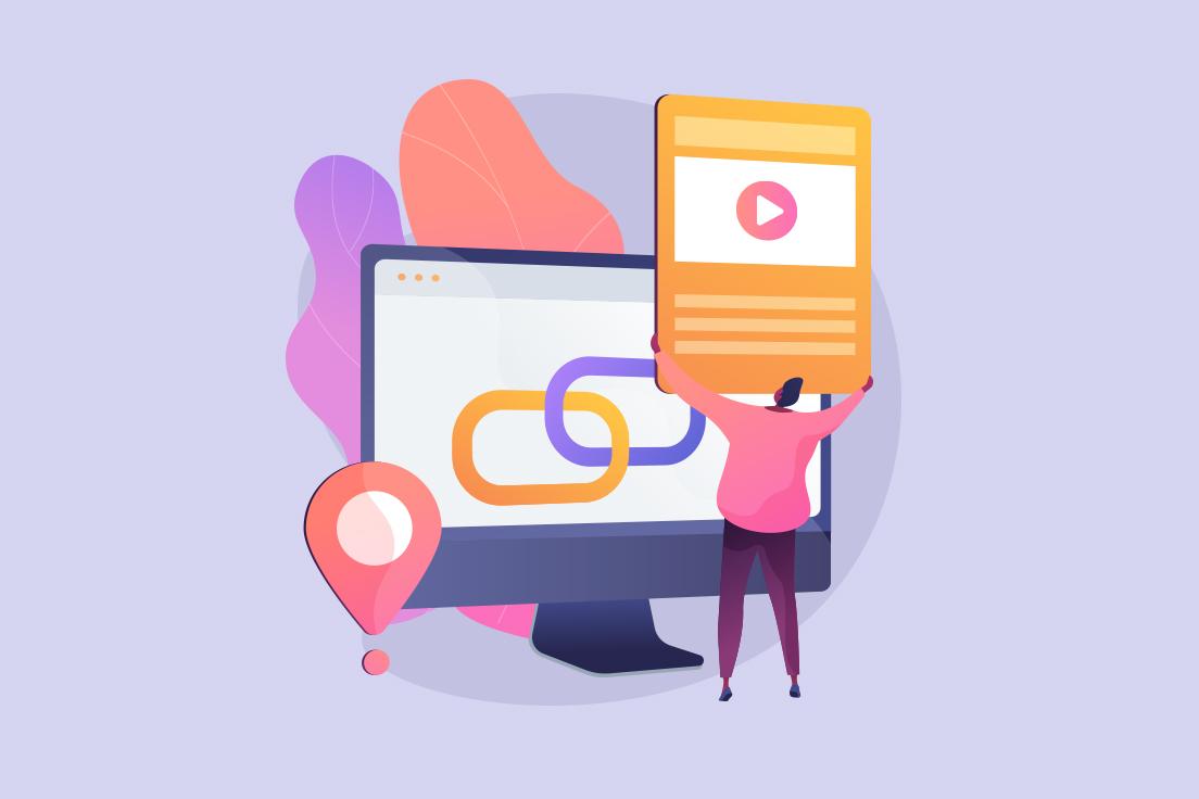 Link building and content marketing for medical websites