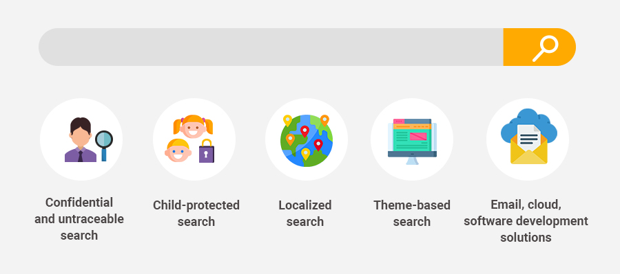 vital characteristics of a search engine