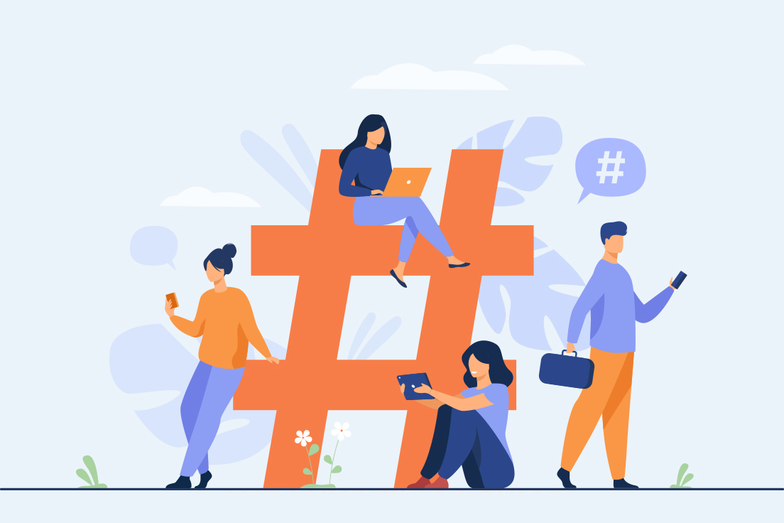 Modern marketing leverages social media channels to attract a large audience