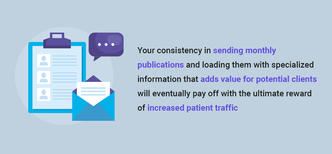 Be Your Patients' #1 with Email Newsletters