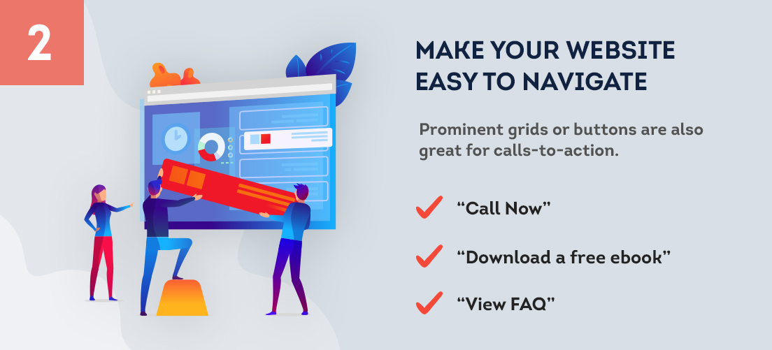how to Make Your Website Easy to Navigate