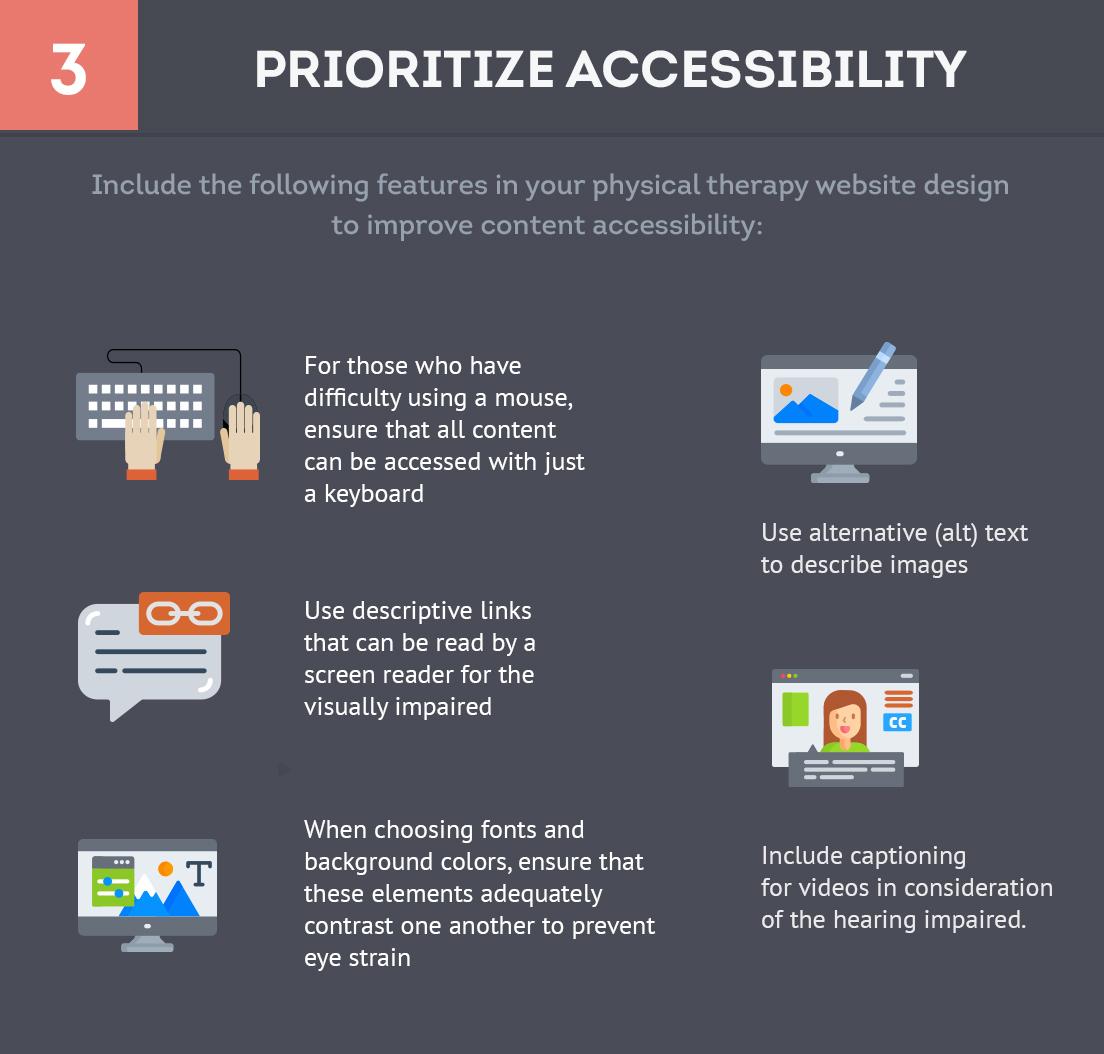 Prioritize Accessibility