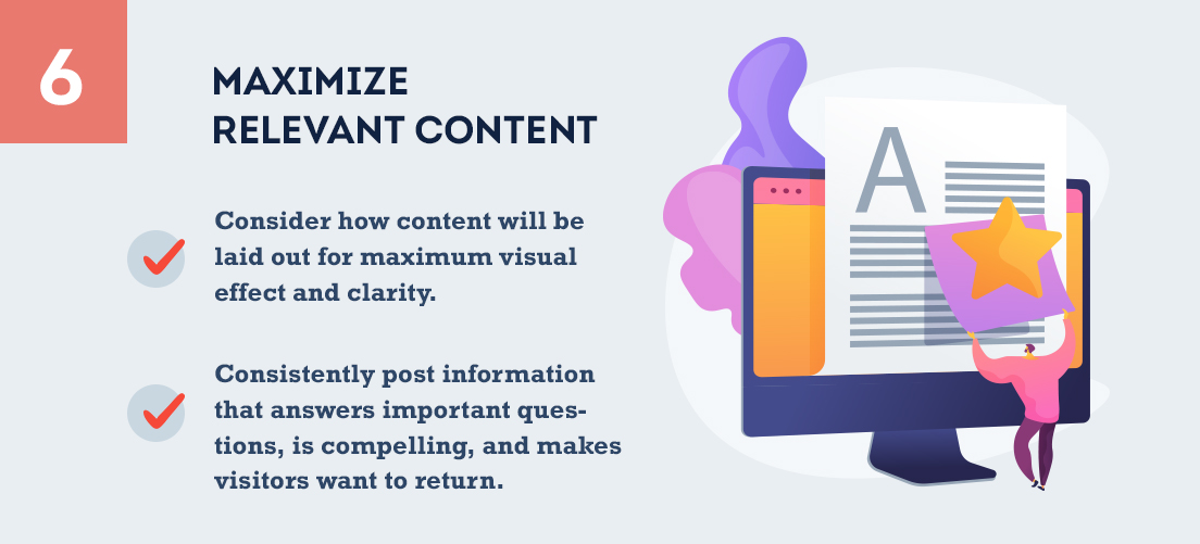 Maximize Relevant Content